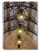 Victorian Lights Spiral Notebook