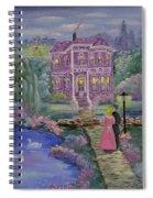 Victorian Romance 1 Spiral Notebook