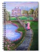 Victorian Romance 2 Spiral Notebook