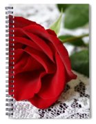 Victorian Rose Spiral Notebook