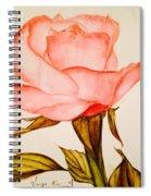 Victorian Rose  Spiral Notebook