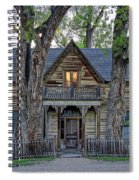 Victorian Sedman House In Montana State Spiral Notebook