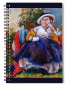 Victorian Tea Time Spiral Notebook