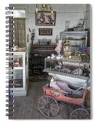 Victorian Toy Shop - Virginia City Montana Spiral Notebook