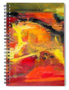 Victory And Rejuvenation Spiral Notebook