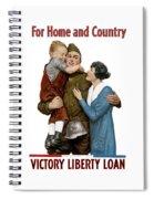 Victory Liberty Loan - World War One  Spiral Notebook