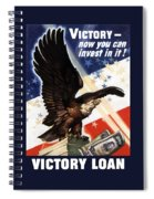 Victory Loan Bald Eagle Spiral Notebook