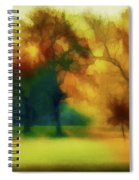 Victory Park Painted Spiral Notebook