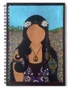 Vidas Pasadas, Woodstock 1969 Spiral Notebook