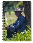 Viejo Cuidando El Ganado 1 Spiral Notebook