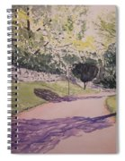 Vienna In Summer Spiral Notebook