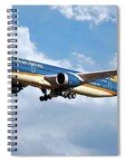 Vietnam Airlines Boeing 787 Dreamliner Spiral Notebook