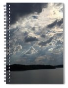 View Across Wappapello Lake II Spiral Notebook