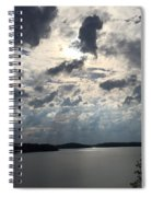 View Across Wappapello Lake IIi Spiral Notebook