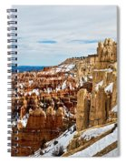 View Along The Ridge Spiral Notebook