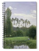 View At Rouelles Spiral Notebook