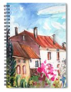View From The Trefle Window In Albi Spiral Notebook
