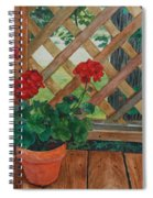 View From A Deck Spiral Notebook