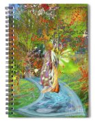 View From A Garden Spiral Notebook