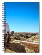 View From A Sheep Herder Wagon Spiral Notebook