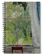 View From A Window Spiral Notebook