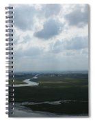 View From Abbey On Mont St. Michel Spiral Notebook