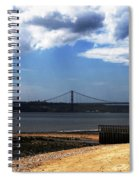 View From Across The Tagus Spiral Notebook