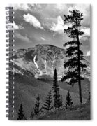 View From Atop Winter Park Mountain 2 Spiral Notebook