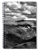View From Atop Winter Park Mountain 3 Spiral Notebook