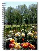 View From Bridlewood Vineyards Spiral Notebook