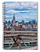 View From Brooklyn Bridge Spiral Notebook