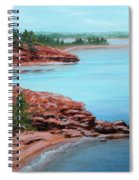 View From Cape Bear Spiral Notebook