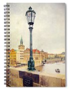 View From Charles Bridge Spiral Notebook