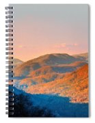 View From Chimney Rock-north Carolina Spiral Notebook