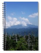 View From Clingman's Dome Spiral Notebook