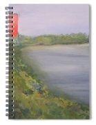 View From Edmund Pettus Bridge Spiral Notebook