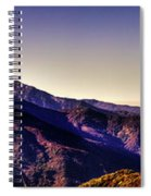 View From Eleven Ranges Overlook Spiral Notebook