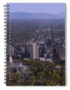 View From Ensign Spiral Notebook
