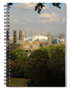 View From Greenwich Park Spiral Notebook