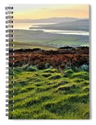 View From Grianan Fort Spiral Notebook