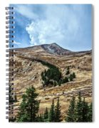 View From Guanella Pass Road Spiral Notebook