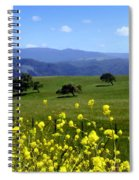 View From Highway 154 Spiral Notebook