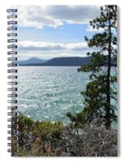 View From Incline Village Spiral Notebook