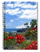 View From Keauhou Kona Spiral Notebook