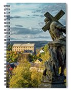 View From Kuks Hospital - Czechia Spiral Notebook