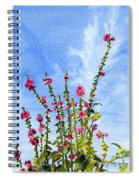 View From Main St Monhegan Spiral Notebook