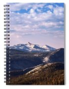 View From May Lake Spiral Notebook