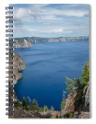 View From Merriam Point Spiral Notebook