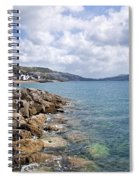 View From North Wall - Lyme Regis Spiral Notebook
