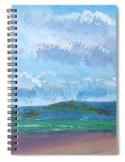 View From Sandy Bay Exmouth Spiral Notebook